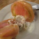 つばめグリル - トマトのサラダ(カット)