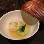 佐賀牛 Sagaya - 海老しんじょうと枝豆豆腐