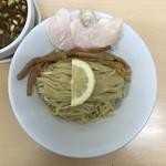 ラーメン たぬき屋 - 麺(超冷盛)