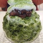 天然氷のかき氷 姫路官兵衛堂 -