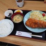 89742620 - ロースかつ定食(850円)2018年7月