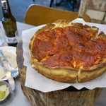 89743183 - Classic Tomato Chicago Pizza 8inch 20000₩
