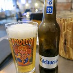 89743321 - ボトルビール「Edelweiss」(5%330ml/7000₩)