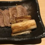鮮魚 個室居酒屋 竹蔵 - 蕎麦屋の鴨焼き。       美味し。