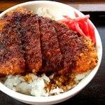 まると - ミニソースカツ丼250円( 平日限定)
