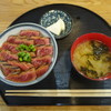 上尾ごはん - 料理写真:赤城牛ステーキ丼(とろける赤身)