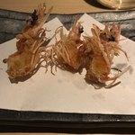 鮮魚 個室居酒屋 竹蔵 - えびの唐揚げ。       美味し。