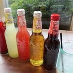 ガーデン&クラフツ カフェ - オーガニックソーダ 5種類