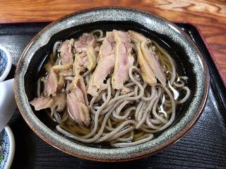 そば処いとう - 冷たい肉そば ¥680