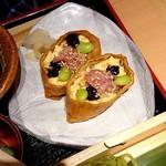 寧々家 - 鮪がのったいなり寿司