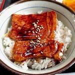 ラーメン まつなが - 半ラーメンセットのミニ豚丼【Jul.2018】