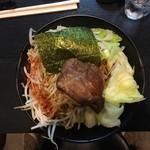 麺将 重厚軍団 - J-まぜそば(魚介)250g 800円