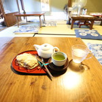 茶房 暖暖 - お昼12時半 土曜日(2018.07)