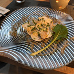 AWkitchen TOKYO - グローブと鮮魚のカルパッチョ