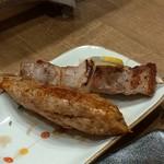 89756790 - 焼き物 豚バラとつくね(´∀`*)ウフ
