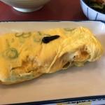 八幡食堂 - のりねぎ入り玉子焼き237円