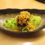 天ぷら やす田 - 番外編 日本料理的麻婆茄子