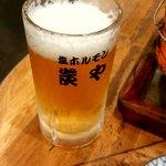 炭や - ビール