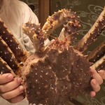 Akasaka Kitafuku - タラバ蟹のアップ