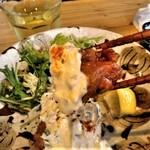 宮崎風土 くわんね - [料理] タルタル添え 鶏の唐揚げ アップ♪w