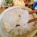 宮崎風土 くわんね - [料理] 冷や汁 アップ♪w ②