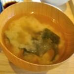 宮崎風土 くわんね - [料理] 味噌汁 アップ♪w