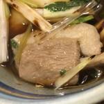 太宗庵 - 鴨肉は暑くて歯応えがあります