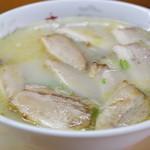 きよし食堂 - 料理写真:チャーシューメン(塩)