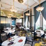 中国料理 春蘭門 - 天井が高く、ゆったりとくつろげる空間