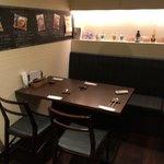 バルハチゴー - テーブル席ヽ( ^ω、^ )و
