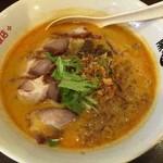 高老庄餃子屋 - カレー担々麺+チャーシュー