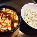 味覚 - 麻婆豆腐刀削麺  900円