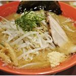 ばんから - 旭川味噌ラーメン 750円