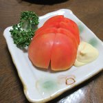 亀善 - 冷やしトマト2018.07.23