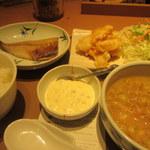 やよい軒 - 料理写真:冷汁ととり南蛮の定食