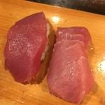福寿司 - 中トロと赤身
