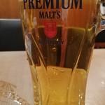 創作中華一達 美中味 - お疲れ様セット¥890の生ビール