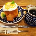 しまこカフェ - レモンのシフォンプレート