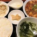 ほうみん - 麻婆豆腐ランチ