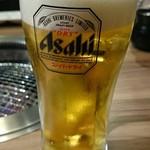 牛角 - 生ビール¥500