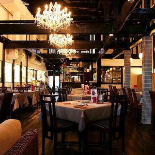 京町家を改装した趣あるレストラン