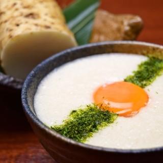 京丹波産❝山の芋とろろ❞料理に舌鼓
