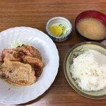 田中食堂 - 豚生姜焼き定食