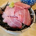 ヤマキ - 中トロ丼(実質大トロ丼)1600円