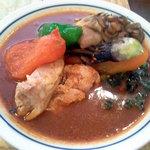 木多郎 - チキン野菜の3番+舞茸