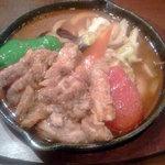 木多郎 - 塩生ラムステーキカリーの3番