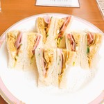 ランボー - 料理写真:ミックスサンドイッチ
