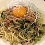 カフェレストラン・ロア - 納豆パスタ