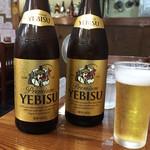 89783082 - エビス瓶ビール