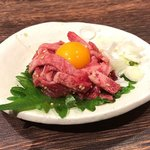 神戸牛・個室焼肉 大長今 - 単品 特上タンユッケ 1580円 これ絶品